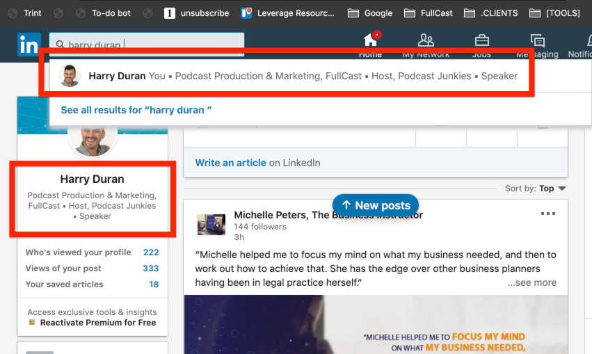 How to Promote Your Podcast on Your LinkedIn Profile